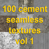 100 seamless cement  textures vol 1.rar